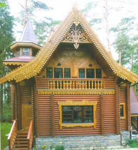 house from a fairy tale.