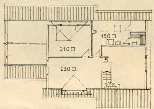The plan of the elegant home.