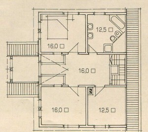 Plan 2 floor of the house of the rising sun.