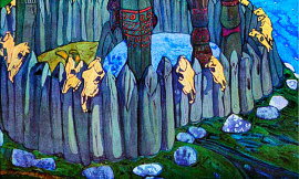 Roerich's 'Idols. Pagan Rus' original painting discovered in Croatia