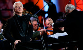 Russian baritone Hvorostovsky cancels concerts due to continuing treatment