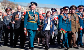 Around eight million people take part in Victory Day celebrations