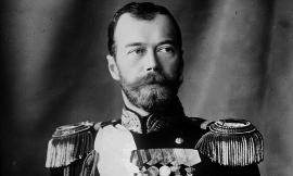 to Russian Czar Nicholas II