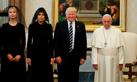 Trump with Pope, St Nicholas relics in Moscow and Zuckerberg's degree
