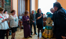 a Bolivian Delegation