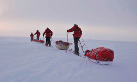 On Thin Ice. Expedition of the Norwegian Polar