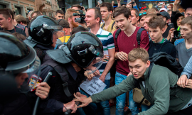 Over 130 adolescents detained in Moscow during