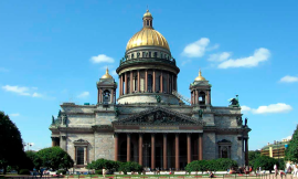 St Isaac's Cathedral museum in St Petersburg