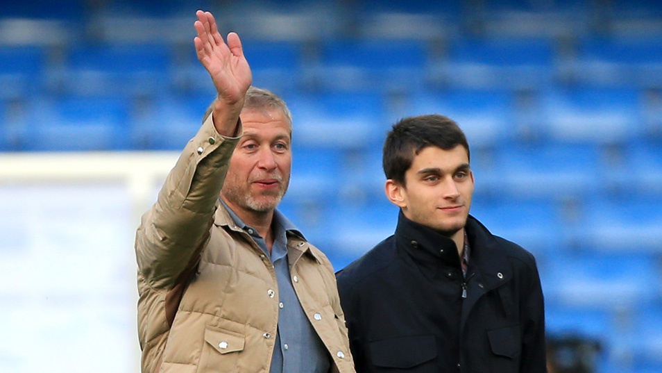 Roman and Arkady Abramovich
