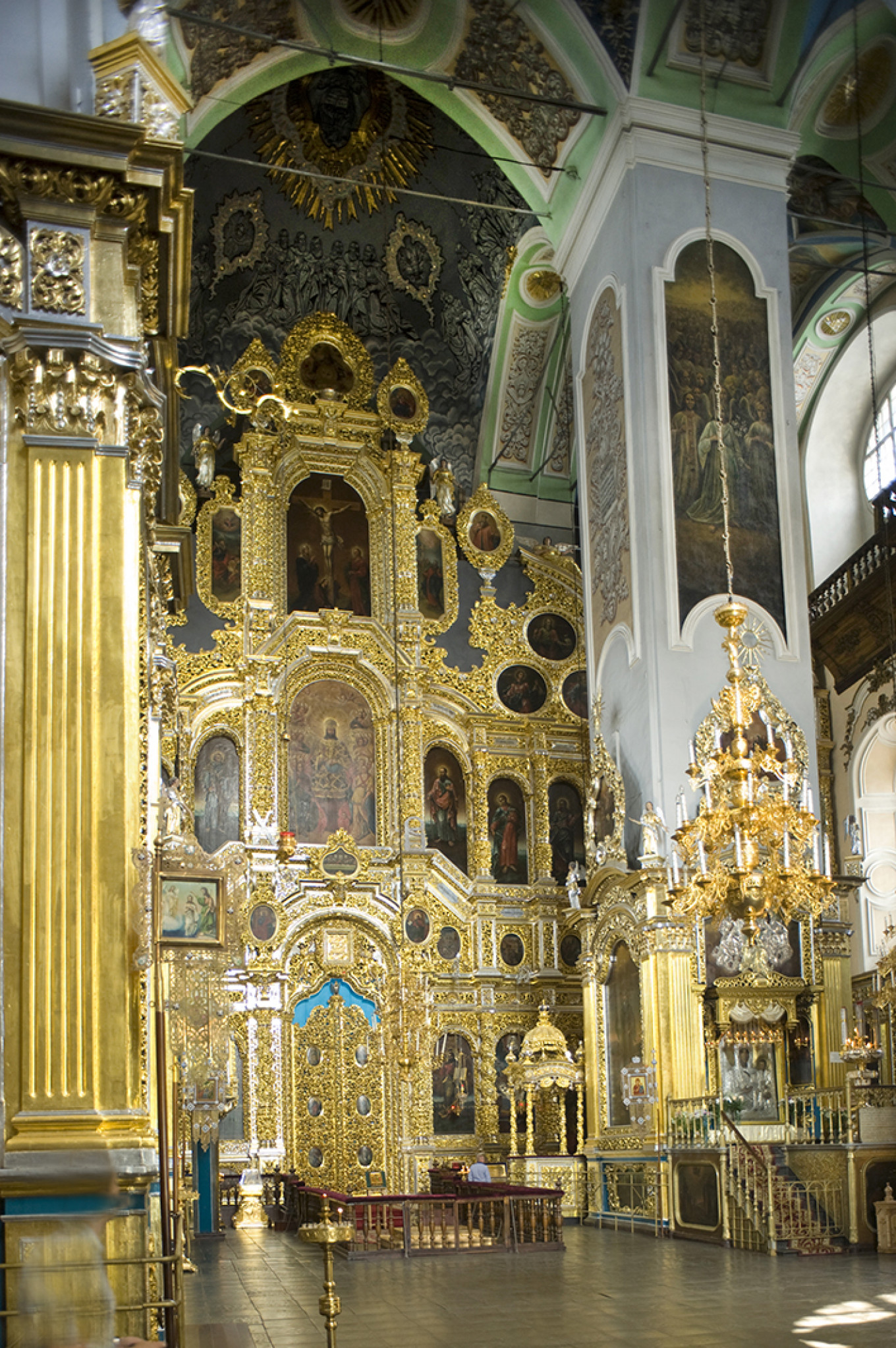 Cathedral of Dormition of the Virgin, Smolensk, July 2014. The icon disappeared during Nazi occupation. WC Brumfield/Duke University Press