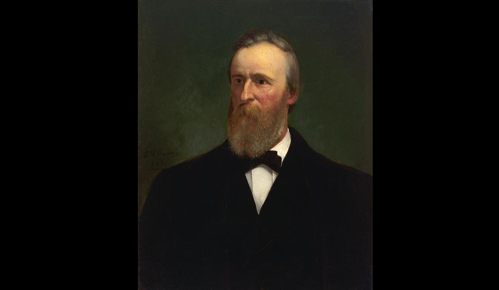 <em>Rutherford B. Hayes</em> by Eliphalet Frazer Andrews, 1881