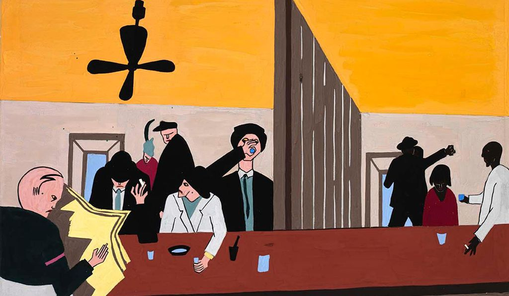 <em>Bar and Grill</em>, 1941