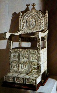 The throne of Ivan the Terrible