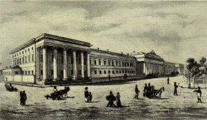 Architect of the Item Pyatnitsky. 1825.