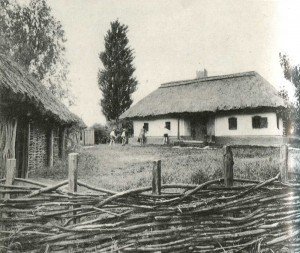 Manor of the village Popivka. Poltava region. 19th century.