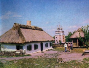 Manor of the village Yasnozore Cherkasy region. Reconstruction of the state in 1907.