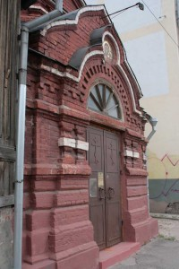 Facade of a church