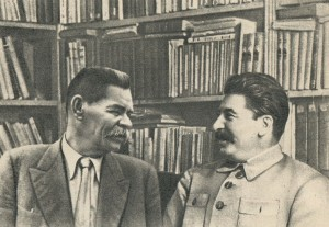 I.V. Stalin and A.M. Gorky