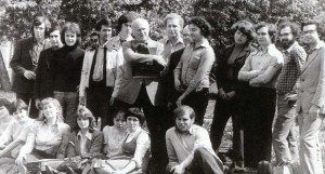 Yury Bashmet, O. Kogan, N. Gutman and S. Richter with the students ' orchestra of the Moscow state Conservatory (1978). The organizer of the concert in the city of Nizhny Novgorod - Olga Tomina (fourth from the right).