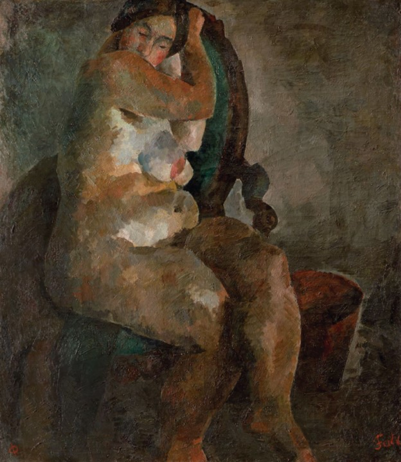 """Nude in an Armchair,"" 1922-23 State Tretyakov Gallery"